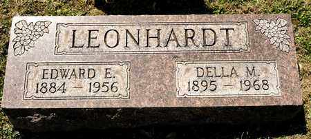 LEONHARDT, EDWARD E - Richland County, Ohio | EDWARD E LEONHARDT - Ohio Gravestone Photos