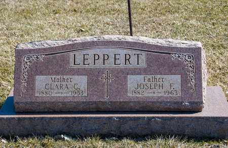 LEPPERT, JOSEPH F - Richland County, Ohio | JOSEPH F LEPPERT - Ohio Gravestone Photos