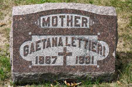 LETTIERI, GAETANA - Richland County, Ohio | GAETANA LETTIERI - Ohio Gravestone Photos