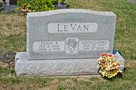LEVAN, GEORGIANNA - Richland County, Ohio | GEORGIANNA LEVAN - Ohio Gravestone Photos