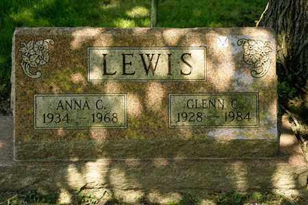 LEWIS, GLENN C - Richland County, Ohio | GLENN C LEWIS - Ohio Gravestone Photos