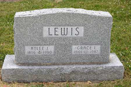 LEWIS, ATLEE J - Richland County, Ohio | ATLEE J LEWIS - Ohio Gravestone Photos