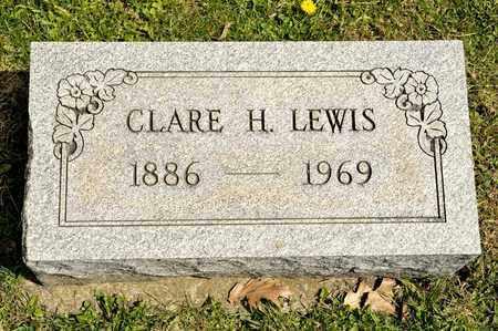 LEWIS, CLARE H - Richland County, Ohio | CLARE H LEWIS - Ohio Gravestone Photos