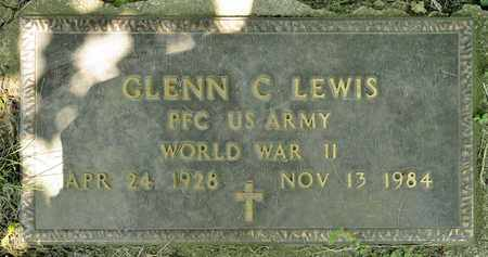 LEWIS, GLENN C - Richland County, Ohio | GLENN C LEWIS - Ohio Gravestone Photos