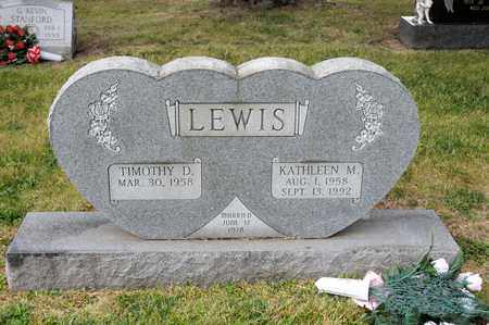 LEWIS, KATHLEEN M - Richland County, Ohio | KATHLEEN M LEWIS - Ohio Gravestone Photos