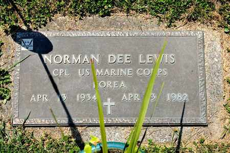 LEWIS, NORMAN DEE - Richland County, Ohio | NORMAN DEE LEWIS - Ohio Gravestone Photos