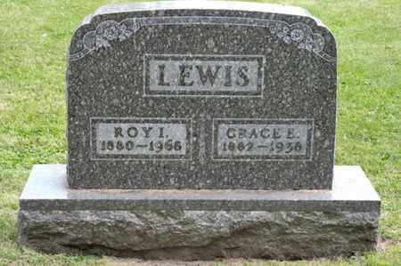LEWIS, GRACE E - Richland County, Ohio | GRACE E LEWIS - Ohio Gravestone Photos
