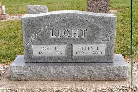 LIGHT, HELEN L - Richland County, Ohio | HELEN L LIGHT - Ohio Gravestone Photos