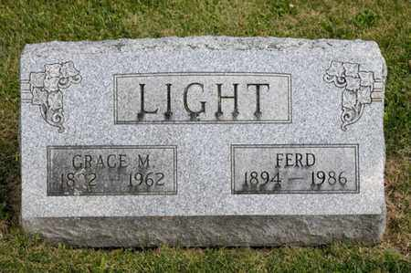 LIGHT, GRACE M - Richland County, Ohio | GRACE M LIGHT - Ohio Gravestone Photos