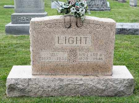 LIGHT, WILLARD W - Richland County, Ohio | WILLARD W LIGHT - Ohio Gravestone Photos