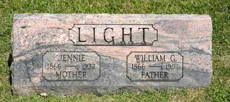 LIGHT, WILLLIAM G - Richland County, Ohio | WILLLIAM G LIGHT - Ohio Gravestone Photos