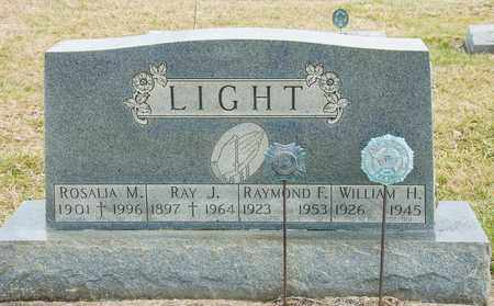LIGHT, RAYMOND F - Richland County, Ohio | RAYMOND F LIGHT - Ohio Gravestone Photos