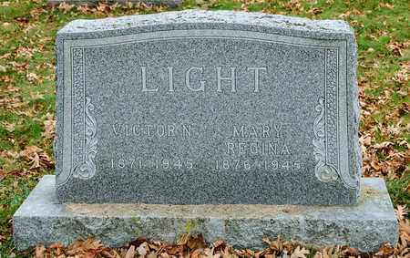 LIGHT, MARY REGINA - Richland County, Ohio | MARY REGINA LIGHT - Ohio Gravestone Photos
