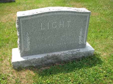 LIGHT, VICTOR N. - Richland County, Ohio | VICTOR N. LIGHT - Ohio Gravestone Photos