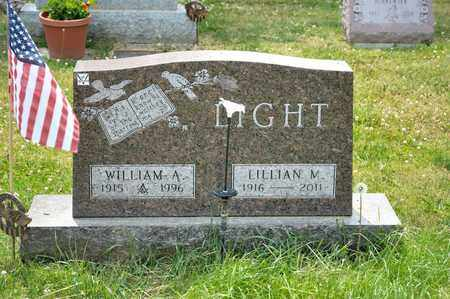 LIGHT, WILLIAM A - Richland County, Ohio | WILLIAM A LIGHT - Ohio Gravestone Photos