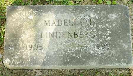 LINDENBERG, MADELLE I - Richland County, Ohio | MADELLE I LINDENBERG - Ohio Gravestone Photos