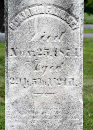 LINDSEY, BENJAMIN F - Richland County, Ohio | BENJAMIN F LINDSEY - Ohio Gravestone Photos