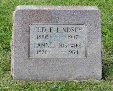 LINDSEY, FANNIE - Richland County, Ohio | FANNIE LINDSEY - Ohio Gravestone Photos