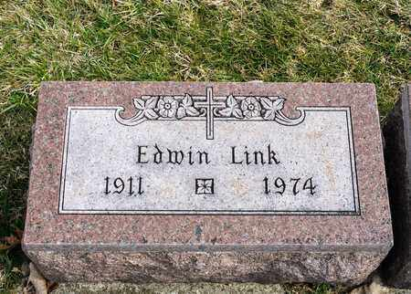 LINK, EDWIN - Richland County, Ohio | EDWIN LINK - Ohio Gravestone Photos