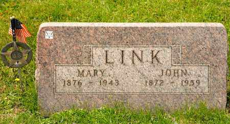 LINK, JOHN - Richland County, Ohio | JOHN LINK - Ohio Gravestone Photos