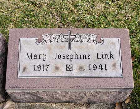 LINK, MARY JOSEPHINE - Richland County, Ohio | MARY JOSEPHINE LINK - Ohio Gravestone Photos