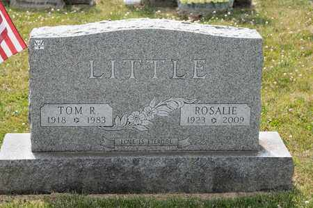 LITTLE, TOM R - Richland County, Ohio | TOM R LITTLE - Ohio Gravestone Photos