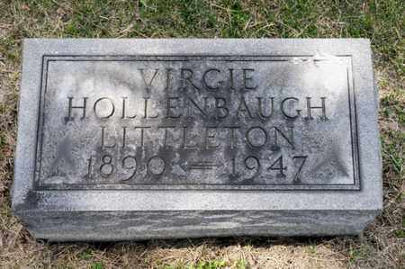 HOLLENBAUGH LITTLETON, VIRGIE - Richland County, Ohio | VIRGIE HOLLENBAUGH LITTLETON - Ohio Gravestone Photos