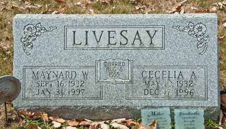 LIVESAY, CECELIA A - Richland County, Ohio | CECELIA A LIVESAY - Ohio Gravestone Photos