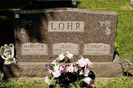 LOHR, FOREST G - Richland County, Ohio | FOREST G LOHR - Ohio Gravestone Photos