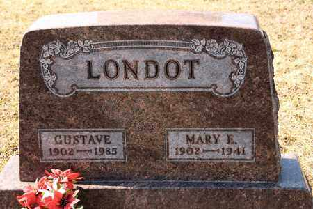 LONDOT, MARY E - Richland County, Ohio | MARY E LONDOT - Ohio Gravestone Photos