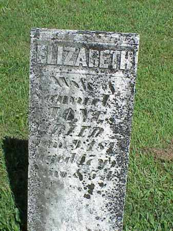LONG, ELIZABETH - Richland County, Ohio | ELIZABETH LONG - Ohio Gravestone Photos
