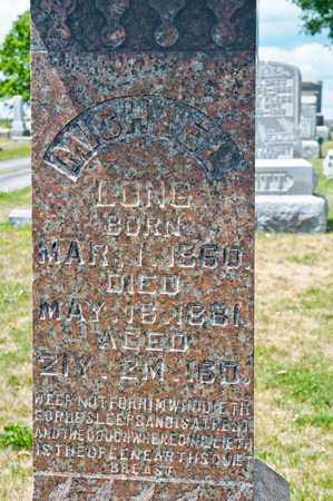LONG, MICHAEL - Richland County, Ohio | MICHAEL LONG - Ohio Gravestone Photos