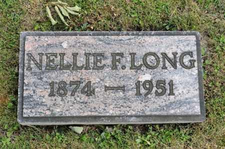 LONG, NELLIE F - Richland County, Ohio | NELLIE F LONG - Ohio Gravestone Photos