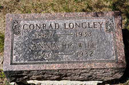 LONGLEY, CONRAD - Richland County, Ohio | CONRAD LONGLEY - Ohio Gravestone Photos