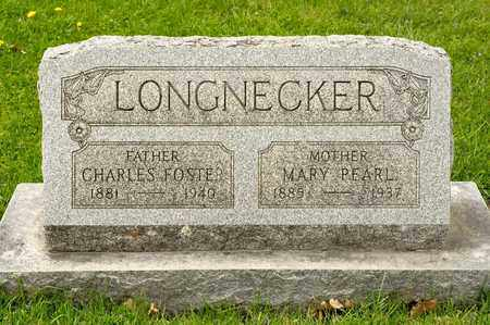 LONGNECKER, CHARLES FOSTER - Richland County, Ohio | CHARLES FOSTER LONGNECKER - Ohio Gravestone Photos