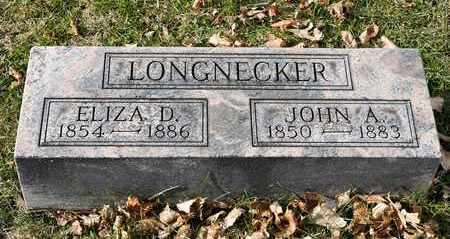 LONGNECKER, ELIZA D - Richland County, Ohio | ELIZA D LONGNECKER - Ohio Gravestone Photos