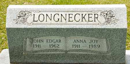 LONGNECKER, JOHN EDGAR - Richland County, Ohio | JOHN EDGAR LONGNECKER - Ohio Gravestone Photos