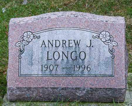 LONGO, ANDREW J - Richland County, Ohio | ANDREW J LONGO - Ohio Gravestone Photos