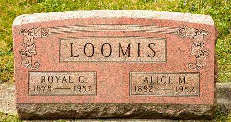 LOOMIS, ALICE M - Richland County, Ohio | ALICE M LOOMIS - Ohio Gravestone Photos