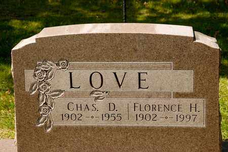 LOVE, FLORENCE H - Richland County, Ohio | FLORENCE H LOVE - Ohio Gravestone Photos