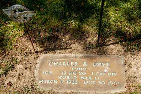 LOVE, CHARLES R - Richland County, Ohio | CHARLES R LOVE - Ohio Gravestone Photos