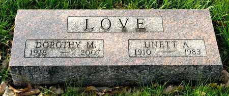 LOVE, DOROTHY M - Richland County, Ohio | DOROTHY M LOVE - Ohio Gravestone Photos