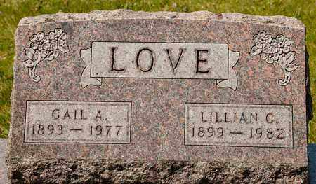 LOVE, LILLIAN C - Richland County, Ohio | LILLIAN C LOVE - Ohio Gravestone Photos
