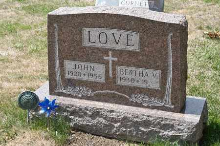 LOVE, JOHN - Richland County, Ohio | JOHN LOVE - Ohio Gravestone Photos