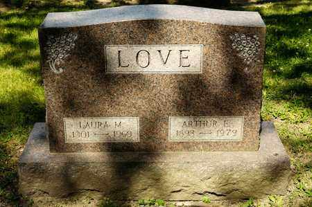 LOVE, LAURA M - Richland County, Ohio | LAURA M LOVE - Ohio Gravestone Photos
