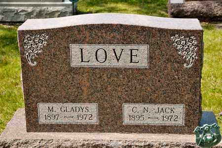 LOVE, M GLADYS - Richland County, Ohio | M GLADYS LOVE - Ohio Gravestone Photos