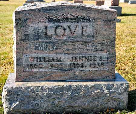 LOVE, JENNIE S - Richland County, Ohio | JENNIE S LOVE - Ohio Gravestone Photos