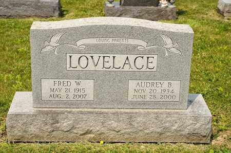 LOVELACE, AUDREY B - Richland County, Ohio | AUDREY B LOVELACE - Ohio Gravestone Photos