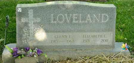 LOVELAND, GLENN E - Richland County, Ohio | GLENN E LOVELAND - Ohio Gravestone Photos