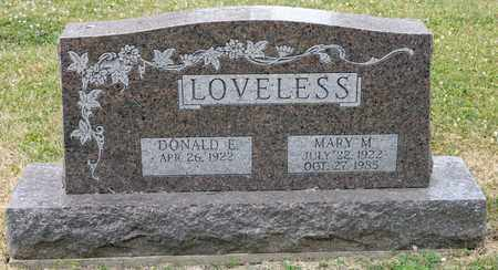 LOVELESS, MARY M - Richland County, Ohio | MARY M LOVELESS - Ohio Gravestone Photos